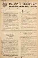 Dziennik Urzędowy Wojewódzkiej Rady Narodowej w Kielcach. 1951, nr1