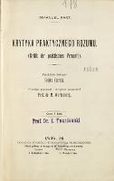 Krytyka praktycznego rozumu - Kant, Immanuel (1724-1804)