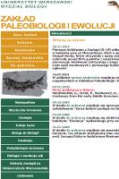 Zakład Paleobiologii i Ewolucji