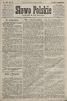 Słowo Polskie (wydanie popołudniowe). 1901, nr447