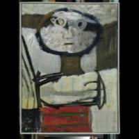 Głowa dekoracyjna - Nacht-Samborski, Artur (1898-1974)