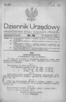 Dziennik Urzędowy Ministerstwa Byłej Dzielnicy Pruskiej 1920.09.27 R.1 Nr58
