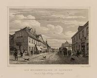 Die Schlossstrasse in Harburg - Rudolf, G.