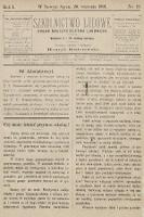 Szkolnictwo Ludowe : organ nauczycielstwa ludowego. 1891, nr18