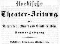 Breslauer Theater-Zeitung (Breslauer) Nordische Theater-Zeitung. Unterhaltungsblatt für Literatur, Kunst und Künstlerleben 1838-11-07 Jg. 9 No 173