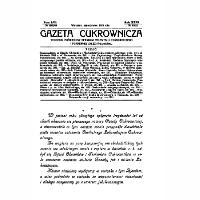Gazeta cukrownicza R. 35, t. 62 nr 22 (1928) - Stowarzyszenie Inżynierów i Techników Przemysłu Rolnego i Spożywczego.