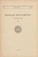 Przegląd Szpitalnictwa 1935 R.5 Nr2