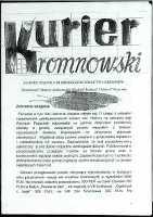 Kurier Kromnowski. Miesięcznik Sołectwa Kromnów, 2014, nr 3 (84)