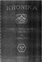 Kronika Okręgowego Urzędu Górniczego w Gliwicach - praca zbiorowa