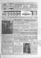 """Wiadomości : pismo Wytwórni Sprzętu Komunikacyjnego """"PZL-Rzeszów"""". 1994, R. 43, nr 1 (20 stycznia)"""