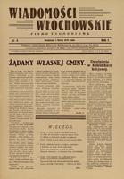 Wiadomości Włochowskie: pismo tygodniowe. 1929 nr 4