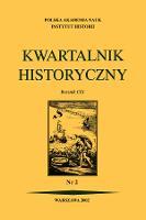 Kwartalnik Historyczny R. 109 nr 2 (2002), Recenzje - Biskup, Marian (1922-2012)