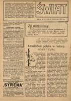 Świat 1909 Nr43