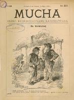Mucha : pismo humorystyczne ilustrowane 1889 R. XV nr 19