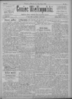 Goniec Wielkopolski: najtańsze pismo codzienne dla wszystkich stanów 1896.03.10 R.20 Nr58+dodatki