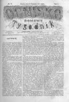 Ognisko Domowe. Tygodnik. 1875.01.15 T.1 nr16