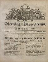 Oberschlesischer Bürgerfreund, 1835, nr 35