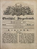 Oberschlesischer Bürgerfreund, 1835, nr 40