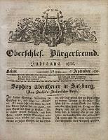Oberschlesischer Bürgerfreund, 1835, nr 38