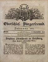 Oberschlesischer Bürgerfreund, 1835, nr 39