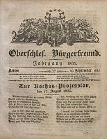 Oberschlesischer Bürgerfreund, 1835, nr 37