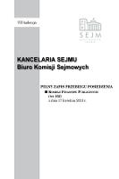 Pełny Zapis Przebiegu Posiedzenia Komisji Finansów Publicznych (nr162) z dnia 17 kwietnia 2013 r. - Kancelaria Sejmu. Biuro Komisji Sejmowych
