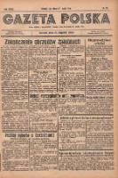 Gazeta Polska: codzienne pismo polsko-katolickie dla wszystkich stanów 1935.05.21 R.39 Nr118