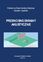 Przenośne ekrany akustyczne - Kazimierska-Grębosz, Marianna.