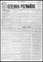Dziennik Poznański : wychodzi codziennie z wyjątkiem poniedziałków i dni poświętnych, R.61, nr 20 (25 stycznia 1919)