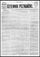 Dziennik Poznański : wychodzi codziennie z wyjątkiem poniedziałków i dni poświętnych, R.61, nr 25 (31 stycznia 1919)