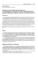 Nowoczesne formy komunikacji interpersonalnej oraz wewnątrzgrupowej jako wynik zmian społeczno-technologicznych - Dejnaka, Agnieszka