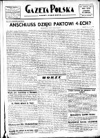 Gazeta Polska : pismo codzienne, R.5, nr 177 (29 czerwca 1933)