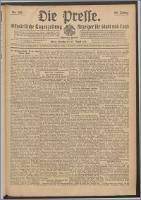 Die Presse 1912, Jg. 30, Nr. 199 Zweites Blatt, Drittes Blatt, Viertes Blatt
