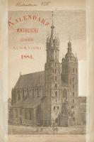 Kalendarz Katolicki Krakowski na Rok Pański 1884