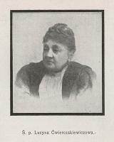 Ś. p. Lucyna Ćwierczakiewiczowa