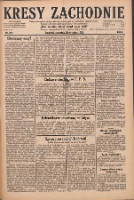 Kresy Zachodnie: pismo poświęcone obronie interesów narodowych na zachodnich ziemiach Polski 1928.09.20 R.6 Nr217