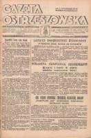 """Gazeta Ostrzeszowska: pismo polsko-katolickie dla wszystkich stanów z bezpłatnym dodatkiem """"Tygodnik Parafialny"""" 1937.08.14 R.18 Nr65"""