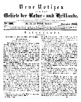 Neue Notizen aus dem Gebiete der Natur- und Heilkunde, 1844 (Bd. XXXII, nr 14), November - No 696