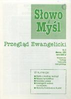 Słowo i Myśl. Przegląd Ewangelicki, 1994, Nr 3