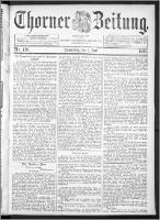 Thorner Zeitung 1893, Nr. 126