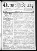 Thorner Zeitung 1893, Nr. 124