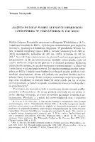 """""""Gazeta Polska"""" wobec ludności niemieckiej i żydowskiej w Poznańskiem w 1848 roku - Nodzyński, Tomasz (1960- )"""