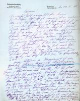Korespondencja różnych osób z 14 lutego 1930 r.