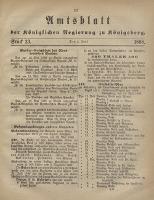Amtsblatt der Königlichen Regierung zu Königsberg., Jg. 58, Stück 23 (4 Juni 1868)
