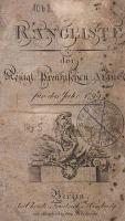 für das Jahr 1799