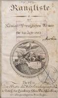 für das Jahr 1803