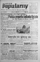 Kurier Popularny. Organ Polskiej Partii Socjalistycznej 1947, III, Nr 220