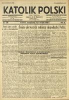 Katolik Polski, 1933, R. 9, nr 179