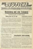 Der Deutsche in Polen, 1934, Jg. 1, nr 29