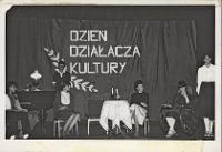 Dzień Działacza Kultury obchodzony w Obornickim Ośrodku Kultury, maj 1980 r. [Dokument ikonograficzny]